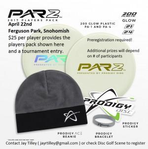 2017 Prodigy Par2 at Ferguson Park, Snohimish, WA graphic