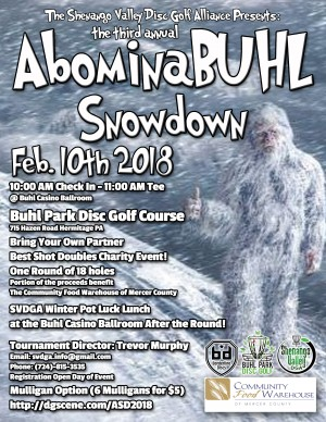 3rd Annual AbominaBUHL Snow Down graphic