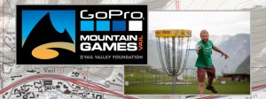 Mountain Masters Disc Golf at the GoPro Mountain Games graphic