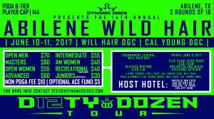 Dynamic Discs Presents the 14th Annual Abilene Wild Hair graphic