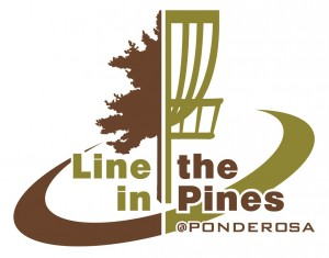 Line in the Pines at Ponderosa Sponsored by Dynamic Discs GDG 5K/10K Event graphic