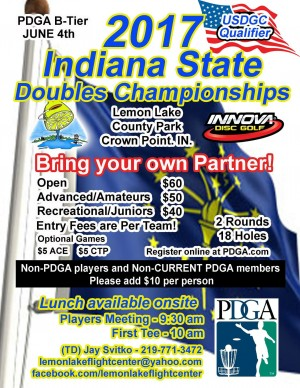 2017 Indiana State Doubles Championships graphic