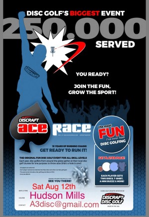 Ace Race Presented By Discraft 2017 - A3Disc/Outlaws graphic