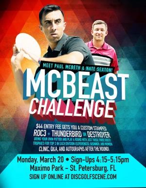 Sun King presents McBeast Challenge @ St. Pete FL graphic