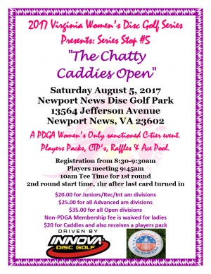 The Chatty Caddies Open graphic