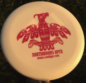 23rd Northwoods Open at Sandy Point Resort Disc Golf Ranch Presented by Innova Discs graphic