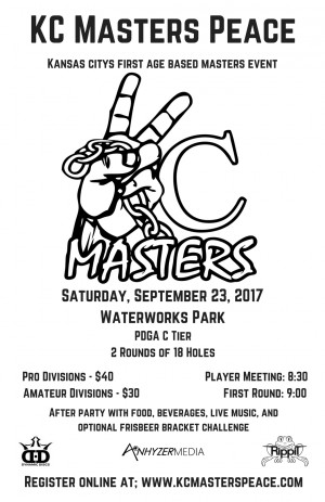 KC MASTERS PEACE graphic