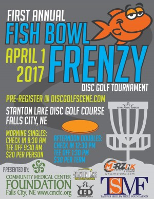 First Annual Fish Bowl Frenzy Afternoon Doubles graphic