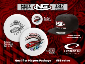 Region 5: Des Moines IA Next Generation Disc Golf Series Qualifier graphic