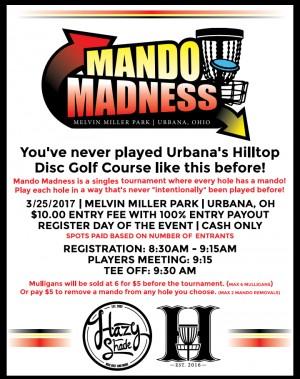 2nd Annual Mando Madness graphic