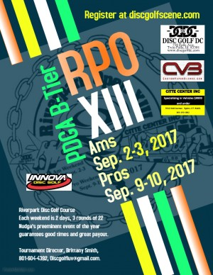 Riverpark Open XIII Ams Driven by Innova graphic