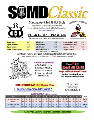 Southern Maryland Classic graphic