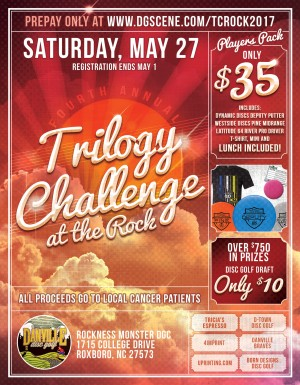 Trilogy Challenge 2017 at the Rock graphic