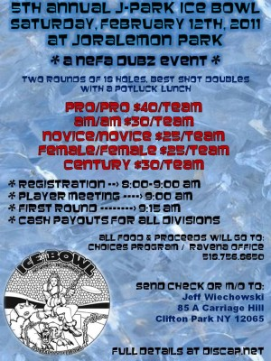 5th Annual J-Park Ice Bowl graphic