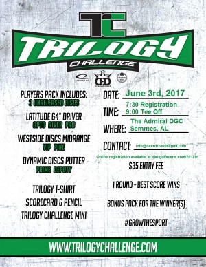 2017 Trilogy Challenge @ The Admiral graphic