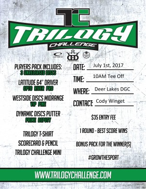 Trilogy Challenge at Deer Lakes graphic