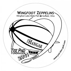 Wingfoot Zeppelins present Hangover at the Hanger, an Ice Bowl Charity Series. Event #1 graphic
