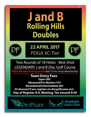 J and B Rolling Hills Doubles graphic