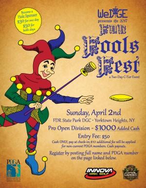 FDR Fools Fest - Open graphic