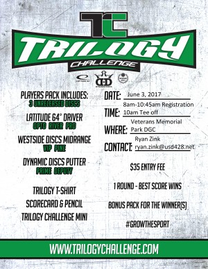 3rd Annual Trilogy Challenge graphic