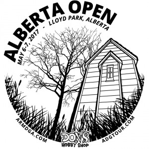 2017 Alberta Open presented by Innova graphic