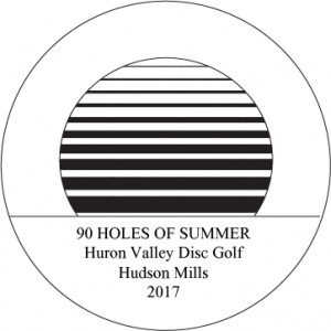 90 Holes of Summer Presented by Dynamic Discs graphic