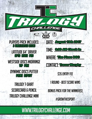 2017 Trilogy Challenge at The Pines DGC graphic