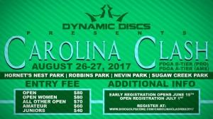 Carolina Clash presented by Dynamic Discs graphic