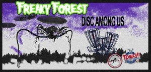 Freaky Forest - Disc Among Us graphic
