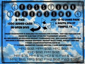4th Annual Crosstown Throwdown graphic