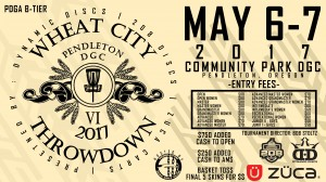 Wheat City Throwdown VI presented by Dynamic Discs, 208 Discs, & Zuca graphic