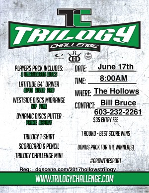 Trilogy Challenge at the Hollows graphic