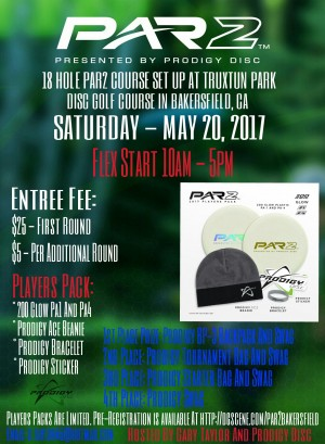 PAR2 Challenge Presented By Prodigy Disc (Bakersfield) graphic