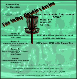 Fox Valley Doubles Series - Round 3 graphic