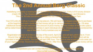 2nd Annual Berg Classic *Day of Registration only* graphic