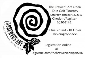The Brewers Art Open 2017 graphic