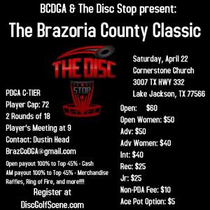 Brazoria County Classic graphic