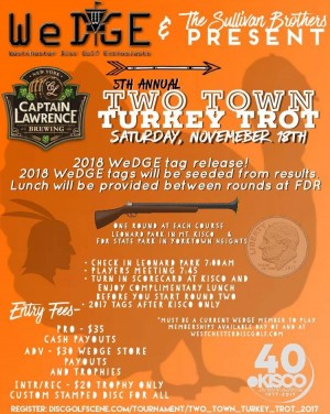 Two Town Turkey Trot 2017 graphic
