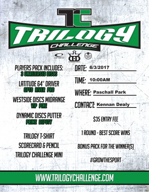 Trilogy Challenge- Paschall Park graphic