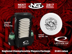 Next Generation Disc Golf Region 9: Regional Championship graphic