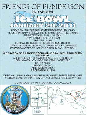 2nd Annual Friends of Punderson Ice Bowl graphic