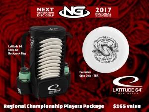 Next Generation Disc Golf Region 8: Regional Championship graphic