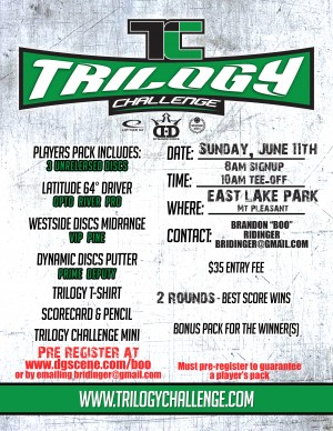 East Lake Park Trilogy Challenge graphic