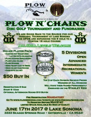 North Bay Plow N' Chains graphic