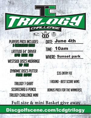 Trilogy Challenge Sunset park 2017 graphic