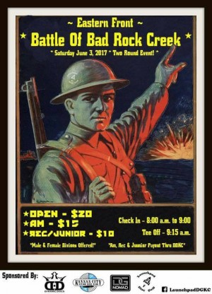 Battle of Bad Rock Creek graphic