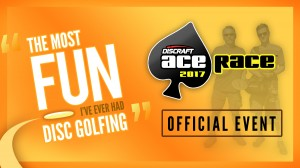 Hattiesburg Disc Golf Association 2017 Ace Race graphic