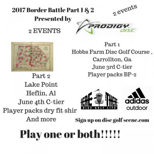 2017 Border Battle presented by Prodigy Discs - Part 1 graphic