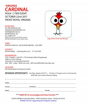 Virginia Cardinal graphic