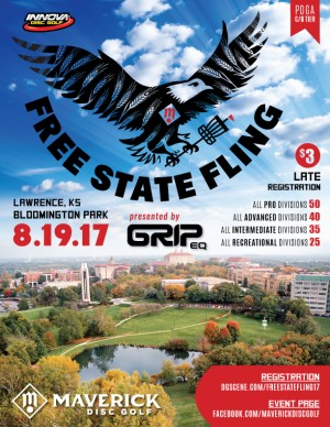 Maverick DG: Free State Fling Presented by GRIP Equipment graphic